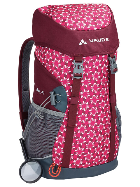 VAUDE Puck 14 Backpack Kids grenadine